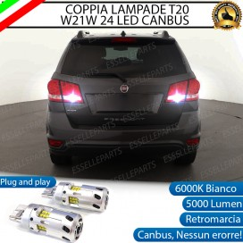 Luci Retromarcia a LED CANBUS 3.0 T20 W21W per FIAT FREEMONT