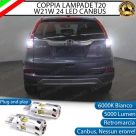 Luci Retromarcia a LED CANBUS 3.0 T20 W21W per HONDA CR-V IV