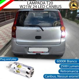 Luce Retromarcia a LED CANBUS 3.0 T20 W21W per DAIHATSU CUORE VII