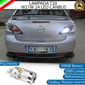 Luce Retromarcia a LED CANBUS 3.0 T20 W21W per MAZDA 6 II