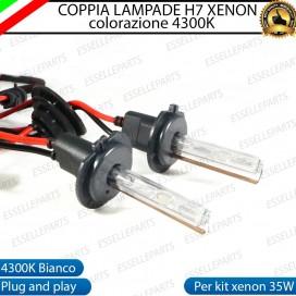 Kit xenon H7 lampade 4300k