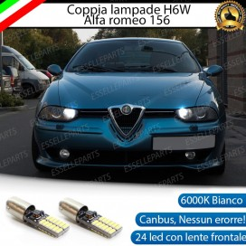 Luci posizione 24 LED Canbus H6W