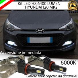 KitFull LED H8 6400 LUMEN FendinebbiaHYUNDAIi20 II