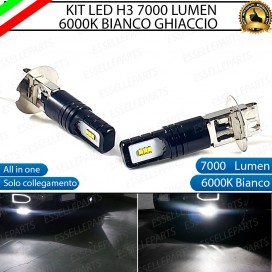 Kit Full LED H3 7000 Lumen Fendinebbia Opel Astra (H)