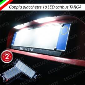 -PER VERSIONI CON DOPPIA PLACCHETTA TARGA- Placchette a LED Complete