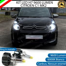 Kit Full LED H7 9600 LUMEN Anabbaglianti Citroen C1 II