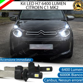 Kit Full LED H7 Abbaglianti CITROEN C1 II