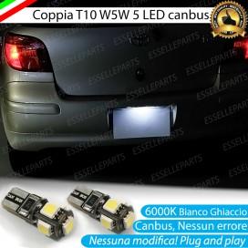 Luci Targa 5 LED Canbus 6000K per Toyota Yaris 1