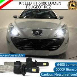 KitFull LED H1 Abbaglianti 6400 LUMENPEUGEOT RCZ