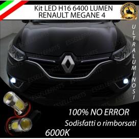 Luci Fendinebbia H16 LED 900 LUMENRENAULTMEGANE IV