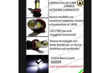Luci Fendinebbia H16 LED TWINGO III