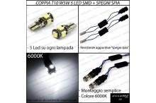 Luci targa 5 LED Canbus LANCIA Ypsilon II