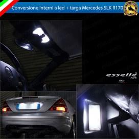 Led interni Completo + Targa MERCEDES SLK R170 canbus 6000k
