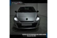 Luci posizione 10 LED Canbus 660 Lumen CLIO III