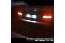 Luci targa 6 LED Canbus SERIE 5 E39