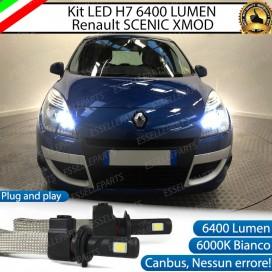 KitFull LED H7 6400 LUMEN AbbagliantiRENAULTSCENIC XMOD