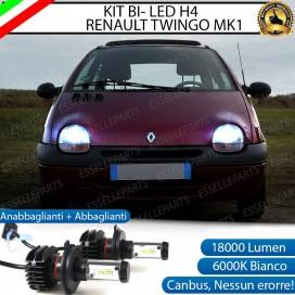 KitFull LED H4 18000 LUMEN Anabbaglianti/Abbaglianti perRENAULT TWINGO I