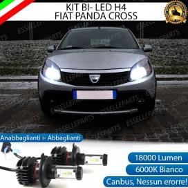 KitFull LED H4 18000 LUMEN Anabbaglianti/Abbaglianti perDACIA SANDERO I