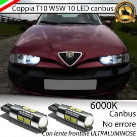 Luci posizione 10 LED Canbus 660 Lumen ALFA ROMEO 145