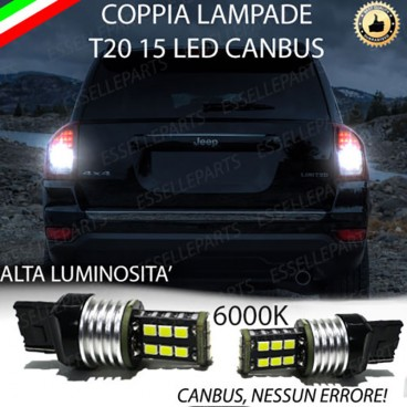 Luci Retromarcia 15 LED T20 JEEP COMPASS