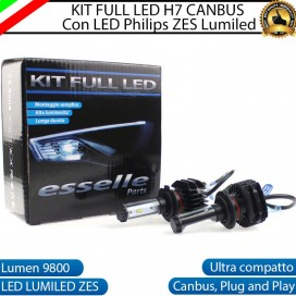 Kit Full LED H7 9800 LUMEN Anabbaglianti DACIA SANDERO II