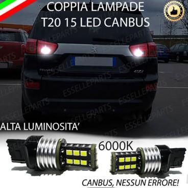 Luci Retromarcia 15 LED T20 PEUGEOT 4007