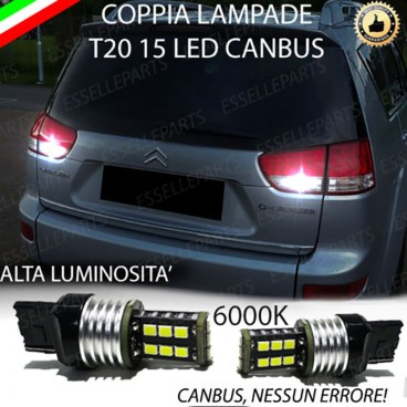 Luci Retromarcia 15 LED T20 CITROEN C-CROSSER