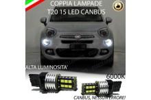 Lampadina Luci Diurne Fiat 500 : Luci posizione led canbus fiat 500x 6000k luce bianca no error