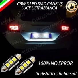 Luci targa 3 LED Audi TT 8J per modelli fino al 2009