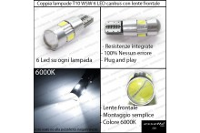 Citroen C1 luci di posizione