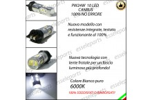 Luci di Posizione/Diurne 10 LED PW24W PASSAT CC