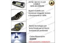 Luci Diurne 15 LED P21W SEAT LEON II