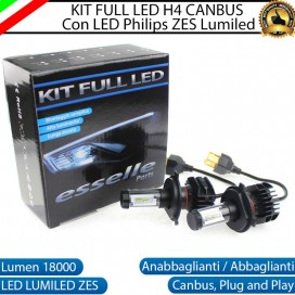 Kit Full LED H4 coppia lampade ANABBAGLIANTI/ABBAGLIANTI FIAT PANDA II