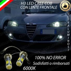 Luci Fendinebbia H3 LED 900 LUMENALFA ROMEO 147