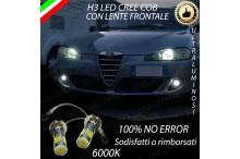 Luci Fendinebbia H3 LED ALFA ROMEO 147