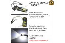 Luci Fendinebbia H3 LED ASTRA H