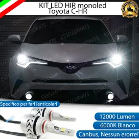Kit Mono led 12000lm coppia HIR/HIR2 TOYOTA C-HR