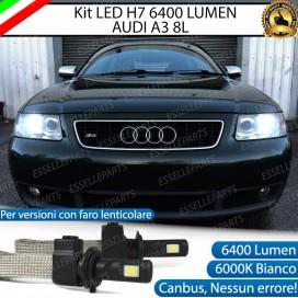 KitFull LED H7 6400 LUMEN AbbagliantiAUDI A3 8L