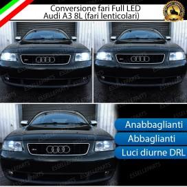 Conversione Fari Full LED 6400LM + 6400LM + 330LM