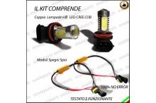 Luci Fendinebbia H8 LED X4 F26