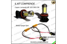 Luci Fendinebbia H8 LED SERIE 2 F45