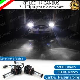 Kit Full LED H7 9800 LUMEN Abbaglianti FIAT TIPO