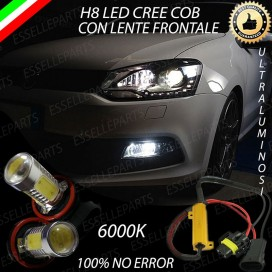Luci Fendinebbia H8 LED 900 LUMEN VW POLO 6R