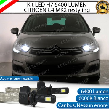 KIT FULL LED H7 Abbaglianti CITROEN C4 II