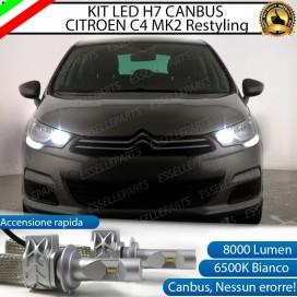 Kit Full LED 8000 lm H7 Abbaglianti
