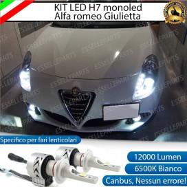 KitFull LED H7 Monoled 12000 LUMENALFA ROMEOGIULIETTA