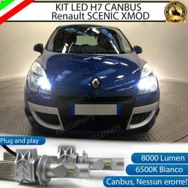 KitFull LED H7 8000 LUMEN AbbagliantiRENAULTSCENIC XMOD