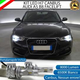 KitFull LED H7 8000 LUMEN AnabbagliantiAUDI A5 B8 RESTYLING
