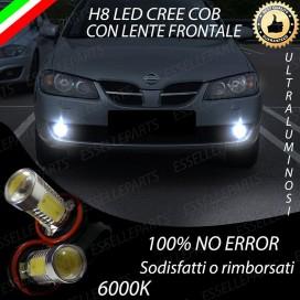 Luci Fendinebbia H8 LED 900 LUMENNISSANALMERA II DAL 08-2002
