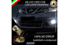 Luci Fendinebbia H8 LED MURANO II